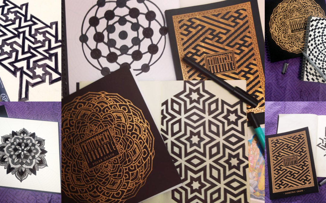 Mandala Sketchbooks | Mandala Coloring Books